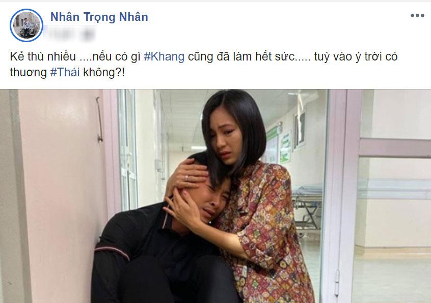 Trọng Nhân tiết lộ Thái sẽ còn phải trả nghiệp.