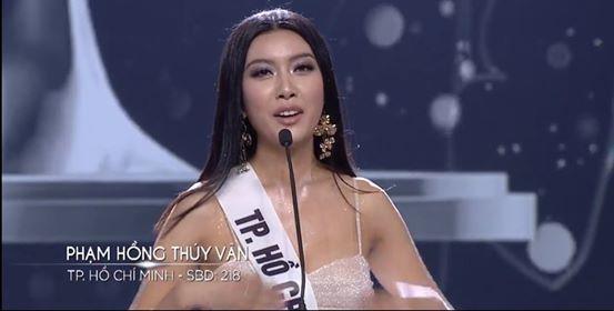 Người đẹp Nguyễn Trần Khánh Vân đăng quang Hoa hậu Hoàn vũ Việt Nam 2019 29