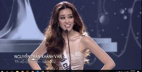 Người đẹp Nguyễn Trần Khánh Vân đăng quang Hoa hậu Hoàn vũ Việt Nam 2019 32