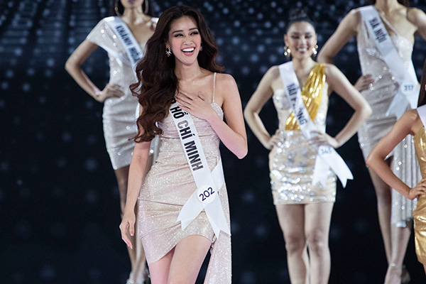 Người đẹp Nguyễn Trần Khánh Vân đăng quang Hoa hậu Hoàn vũ Việt Nam 2019 39