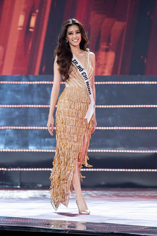 Người đẹp Nguyễn Trần Khánh Vân đăng quang Hoa hậu Hoàn vũ Việt Nam 2019 11