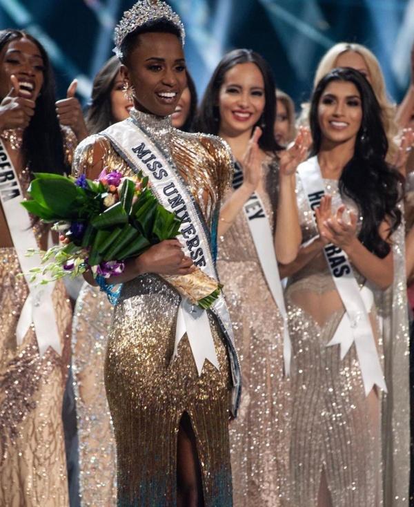 Hoa hậu Hoàn vũ thế giới 2019Zozibini Tunzi.