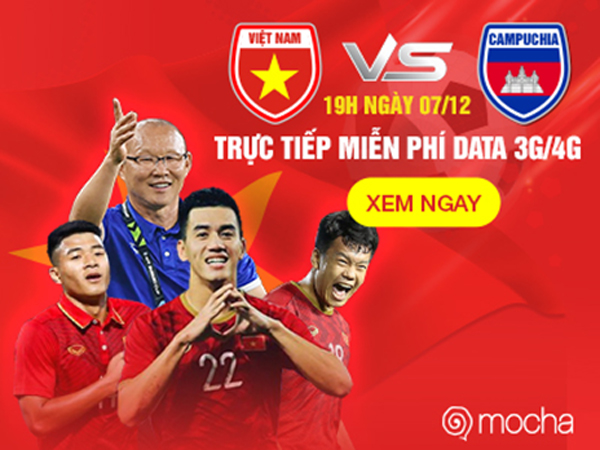 Siêu ứng dụng Mocha trực tiếp miễn phí data trận đấu U22 Việt Nam – U22 Indonesia