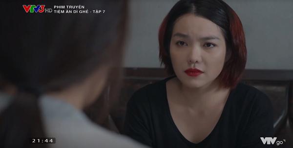 Thiên Kim khóc lóc, nói dối Ngọc để mượn tiền.