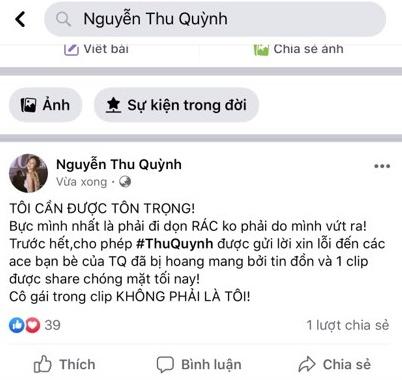 Thu Quỳnh 'My Sói' khẳng định: Cô gái trong clip nóng không phải là tôi! 2