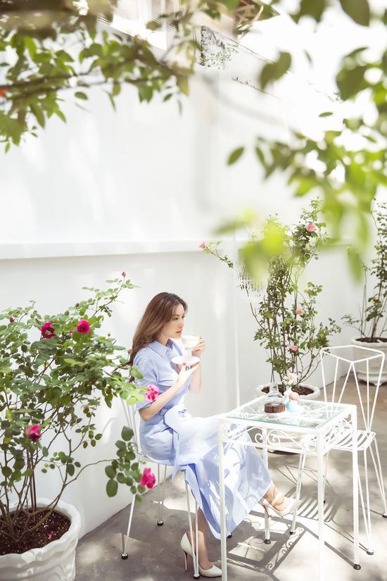 Hậu chia tay, Lý Nhã Kỳ tìm bình yên bên căn nhà đầy hoa hồng ở Đà Lạt 2
