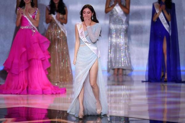 Sau Lan Khuê, Lương Thùy Linh là cô gái có thành tích tốt nhất tại Miss World 2019, mang về niềm tự hào cho các fan sắc đẹp Việt Nam.