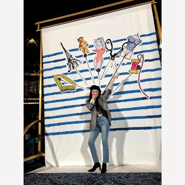 Sở hữu chiều cao '3 mét bẻ đôi', các nữ Idol này vẫn khiến nhiều người ngước nhìn nhờ cách mix đồ 'hack chiều cao' 2