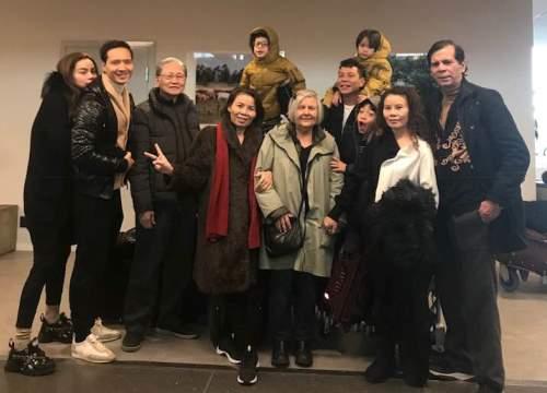 Hồ Ngọc Hà khoe ảnh gia đình, hành động của Kim Lý và Subeo gây chú ý 3