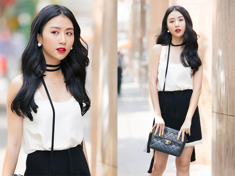 Quỳnh Anh Shyn là hot girl Hà Thành với phong cách thời trang nổi bật