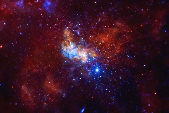 Thế giới đẹp và nguy hiểm quanh lỗ đen quái vật Sagittarius A* - ảnh: NASA