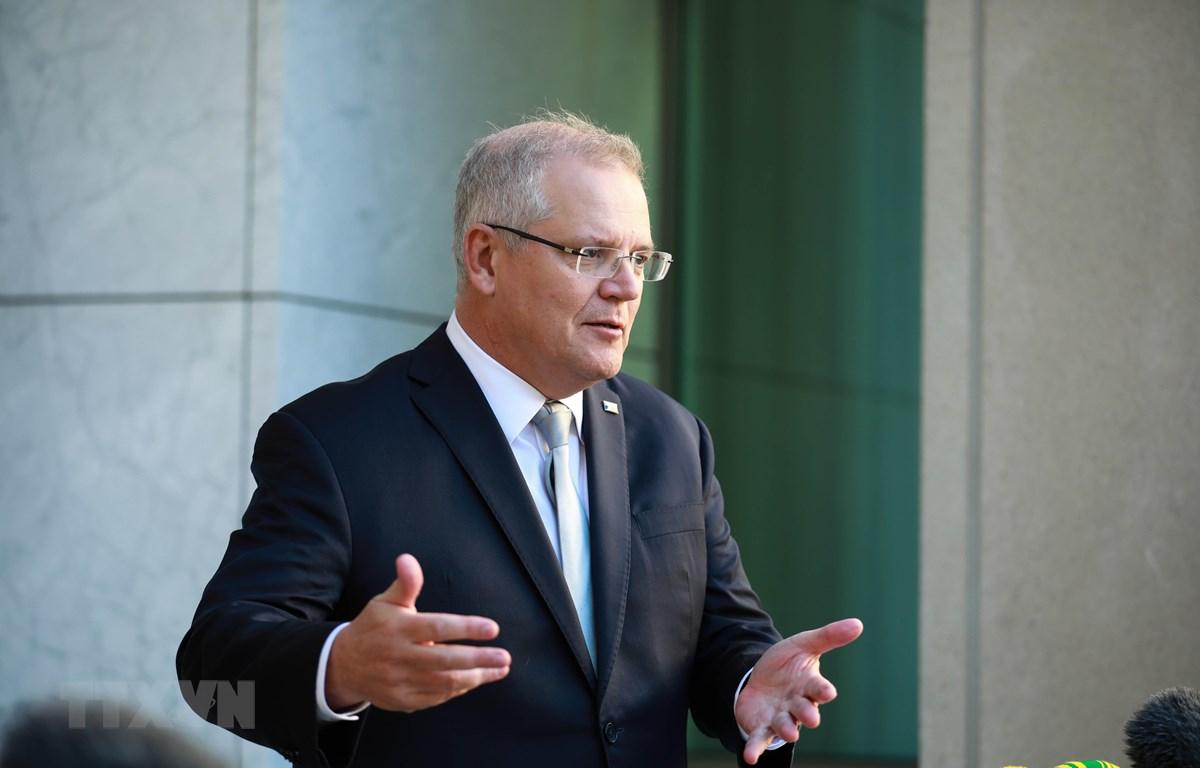Thủ tướng Australia Scott Morrison. (Ảnh: THX/TTXVN)