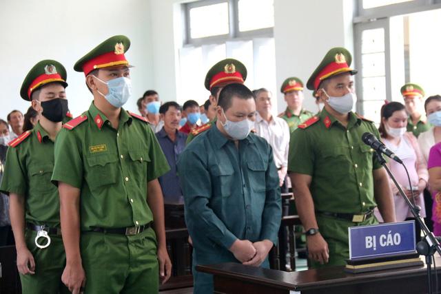 Bị cáo Nguyễn Thanh Tâm tại phiên tòa. Ảnh: TTXVN