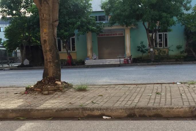 Khu vực Trung tâm huấn luyện và thi đấu TDTT, nơi xảy ra sự việc