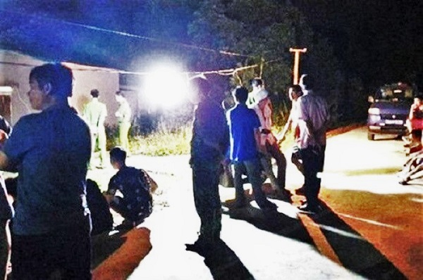 Ngay trong đêm, các cơ quan chức năng đã có mătj để điều tra vụ việc