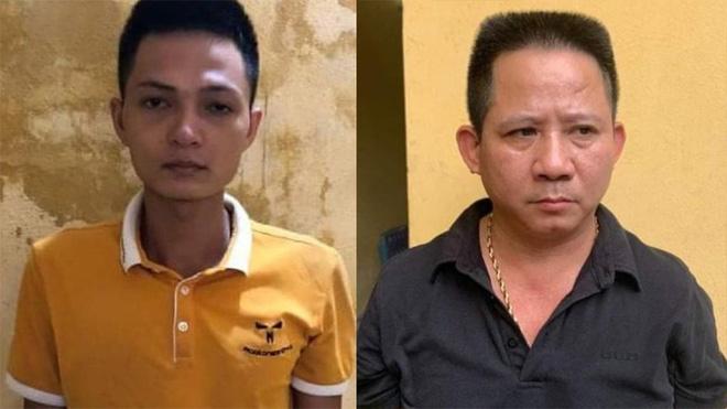 Lăng Văn Vân và Nguyễn Văn Thiện.