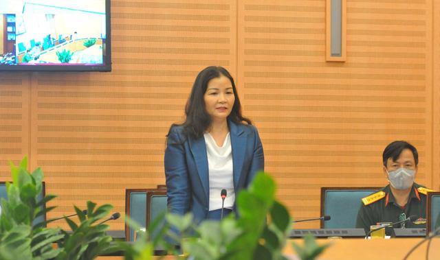 Bà Trần Thị Phương Lan - Phó Giám đốc phụ trách Sở Công Thương TP Hà Nội.