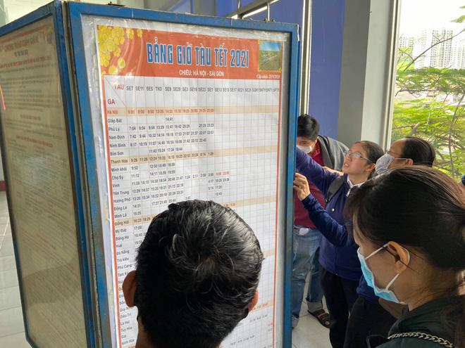 Ngày đầu bán vé Tết Tân Sửu 2021: Ga Sài Gòn vắng khách vì hàng chục nghìn người đã mua vé qua mạng 6