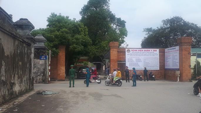 Bệnh viện Quân y 628 được tăng cường chiến sĩ canh gác