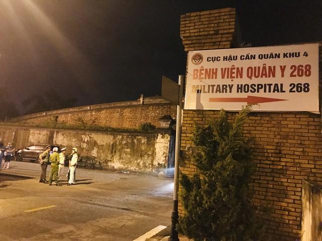 Bệnh viện Quân Y 268, nơi dự kiến diễn ra lễ truy điệu chung cho 13 nạn nhân