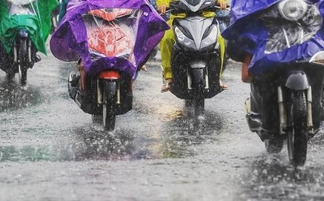 Ba miền đều có mưa to, áp thấp nhiệt đới có khả năng mạnh thêm 0