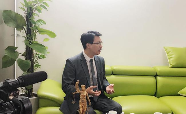 Luật sư Đặng Văn Cường – Trưởng Văn phòng Luật sư Chính Pháp.