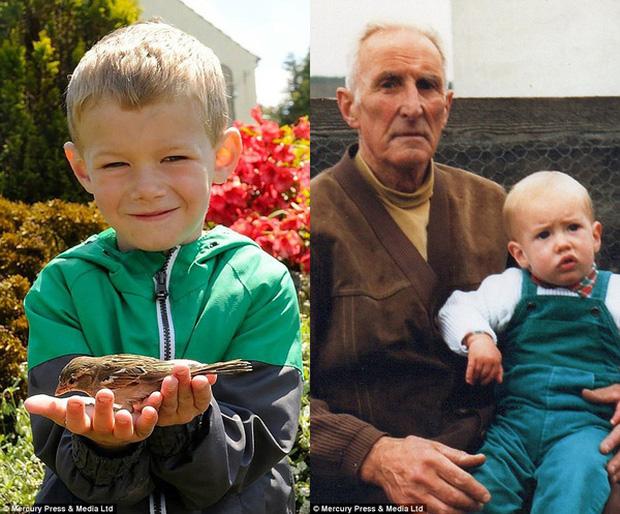 Ông nội là người truyền cảm hứng và tình yêu thiên nhiên cho Alan ngay từ khi ông còn nhỏ.