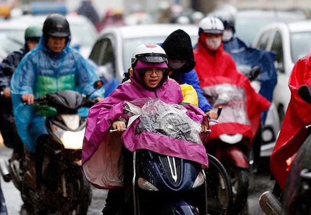 Không khí lạnh gây mưa lớn cho Bắc Bộ và Bắc Trung Bộ 0