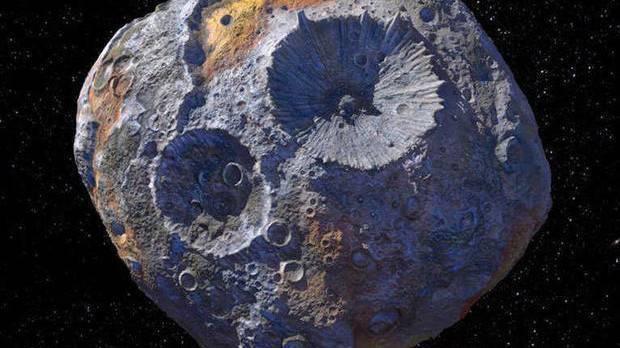 NASA rục rịch khám phá tiểu hành tinh đắt nhất vũ trụ