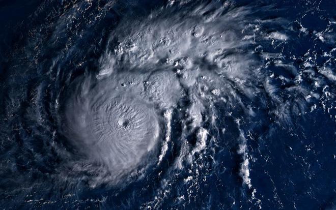 Hình ảnh mây vệ tinh của bão Goni từ vệ tinh Himawari-8 của Nhật. Ảnh: Severe-weather.eu