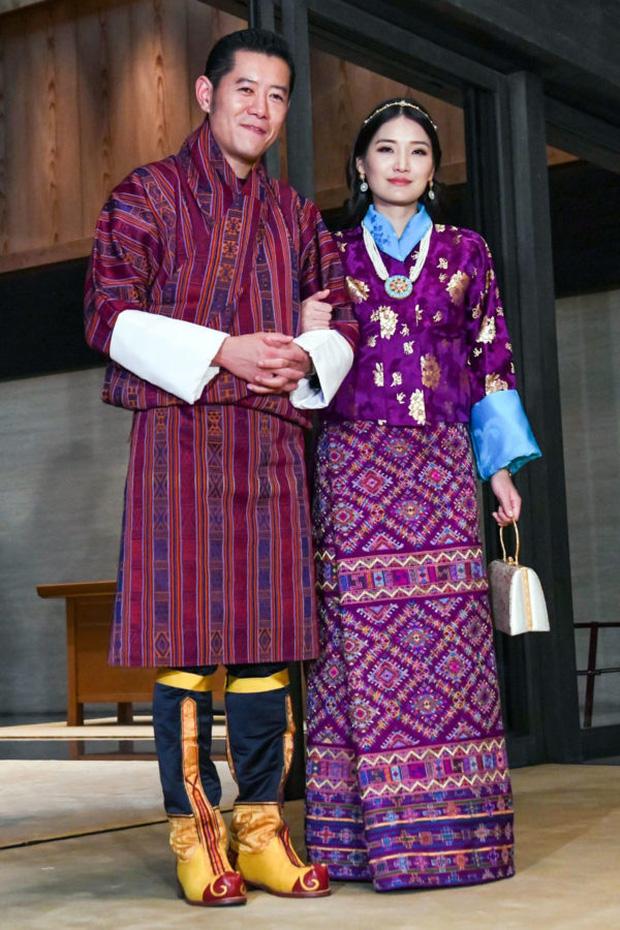 Hoàng hậu Jetsun Pema sở hữu vẻ đẹp hoàn mỹ được truyền thông quốc tế ca ngợi.