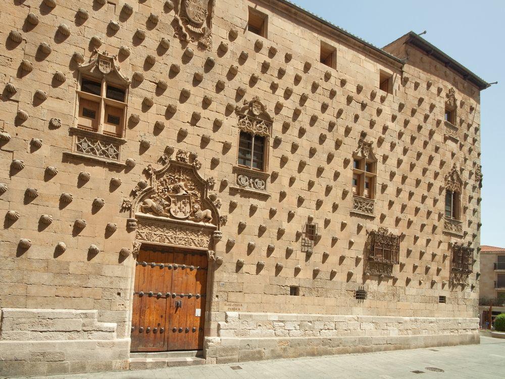 Cận cảnh tòa lâu đài vỏ sò hút khách du lịch ở Tây Ban Nha 4