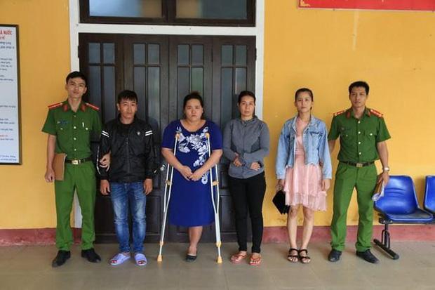 4 bị can trong vụ đánh ghen kinh hoàng ở Huế