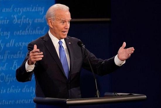 Ông Joe Biden là ứng viên đảng Dân chủ đầu tiên chiến thắng tại bangGeorgia kể từ năm 1992. Ảnh: Getty/AFP