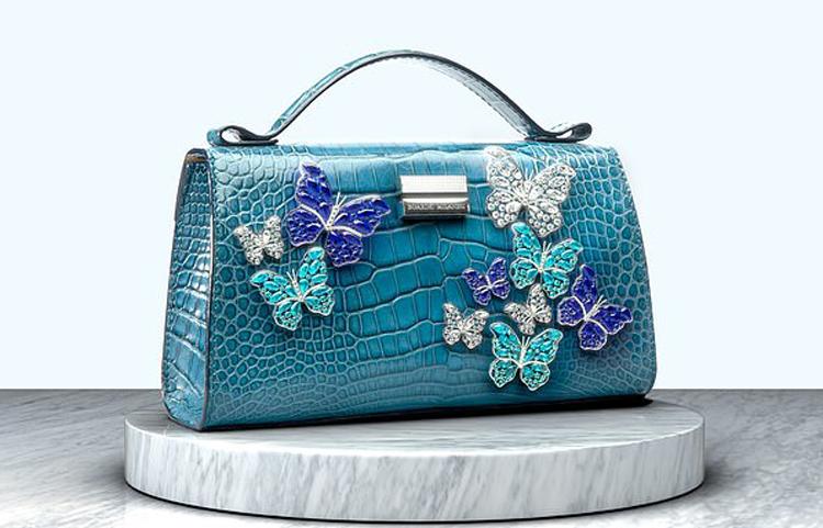 Chiếc túi thương hiệu Boarini Milanesi có giá 7 triệu USD. Ảnh: Daily Mail