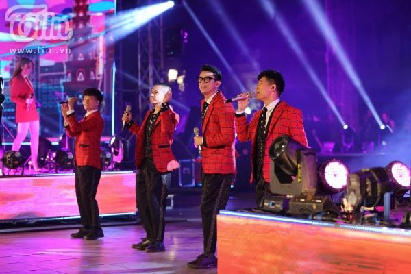 'Vũ khúc ánh sáng - Countdown 2020': Thiều Bảo Trang, Lưu Hương Giang, Đinh Mạnh Ninh 'quẩy tung' đêm nhạc kết năm 20