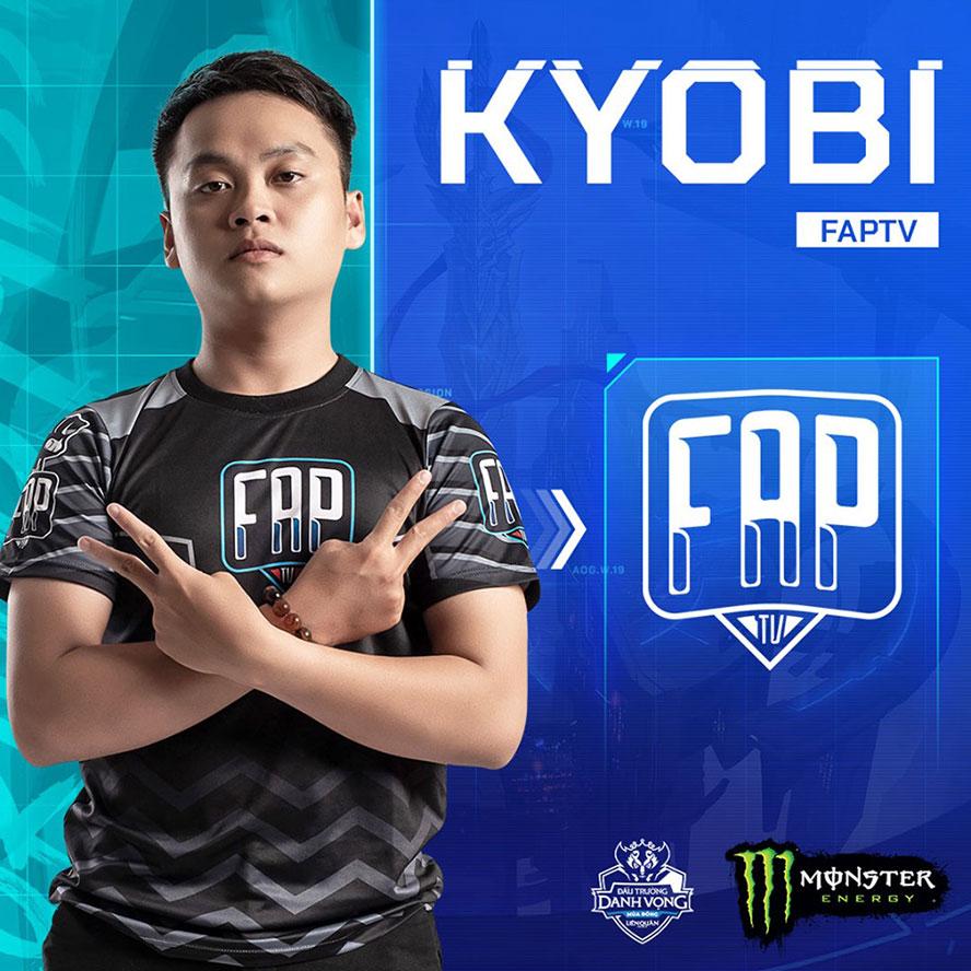 Kyobi - Nguyễn Trung Tính cái tên sáng giá tại Đấu Trường Danh Vọng mùa đông 2019 thi đấuđường Ceasar khi giành chiến thắng trước đương kim vô địch AWC 2019 Team Flash.