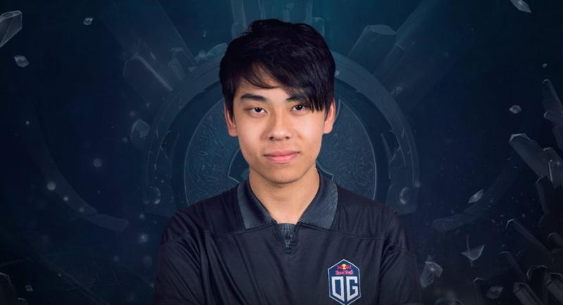Anh là một trong những game thủ DOTA 2 trẻ tuổi, tài năng hàng đầu trên thế giới