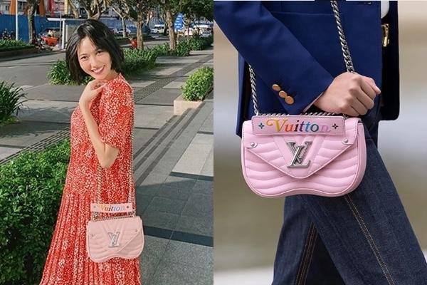 Chăm biến hóa hình ảnh, Diệu Nhi khiến nhiều người bất ngờ với phong cách bánh bèo điệu đà khi diện váy họa tiết hoa nhí, kèm chiếc túi màu hồng của thương hiệu Louis Vuitton. Item này trị giá $2.270 (53 triệu đồng).