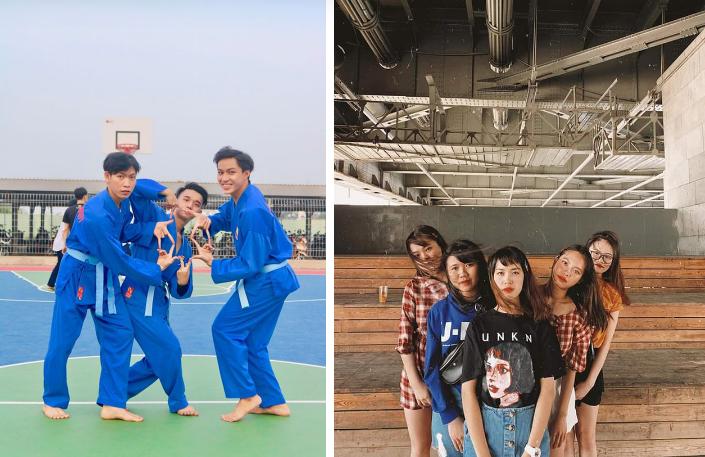 Trend chụp ảnh mới 'khai mạc' học đường 2020: 'Bạn bạn bè bè' - đã ngầu là phải có đồng đội 5
