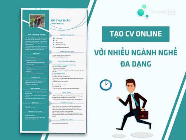 CV ngành nghề - Timviec365.com.vn