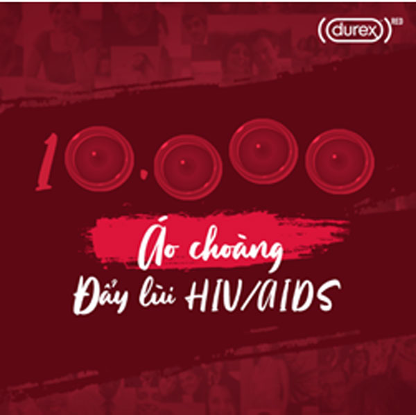 Durex hướng tới quyên tặng 10.000 bao cao su cho cộng đồng tại Việt Nam thông qua các tổ chức như Glink, Alocare, MSM-TG…
