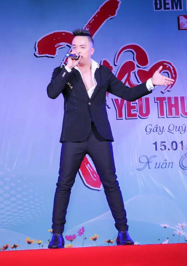 Ca sĩ Cao Thái Sơn quyết định từ chối nhận các show diễn khác để tham gia hát trong đêm nhạc từ thiện 'Xuân yêu thương 7'