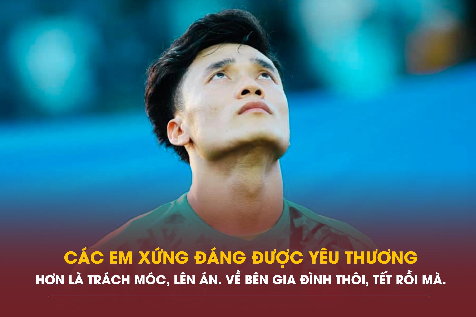 Các em – những 'người hùng' của Việt Nam xứng đáng được yêu thương, che chở, đùm bọc hơn là trách móc, lên án, bởi chúng ta là một gia đình, một dân tộc mà. Về bên gia đình thôi, Tết đến rồi!