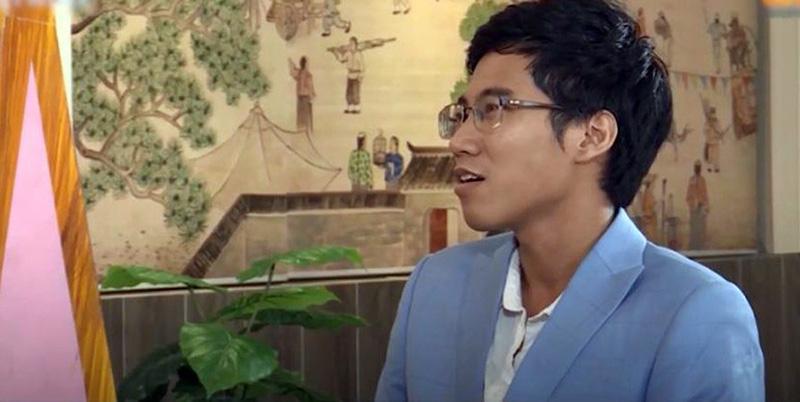 Minh Khang trong chương trình Hẹn ăn trưa
