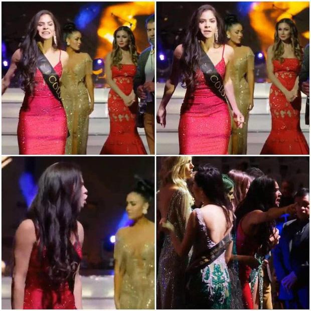 Chuyện hi hữu này xảy ra trên sân khấu Miss Global 2019