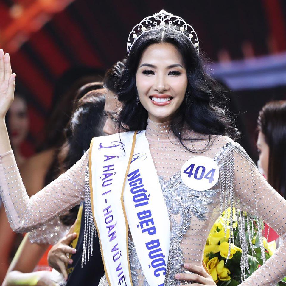 Hoàng Thùy đăng quang Á hậu 1 Hoa hậu hoàn vũ Việt Nam