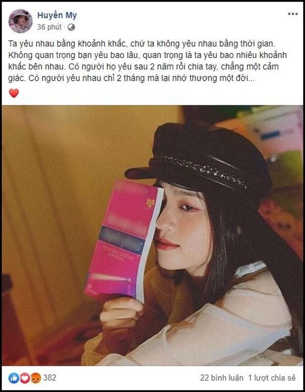 Huyền My 'đá xéo' Nhật Lê.