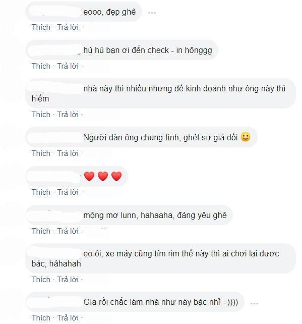 Một số bình luận của cư dânmạng