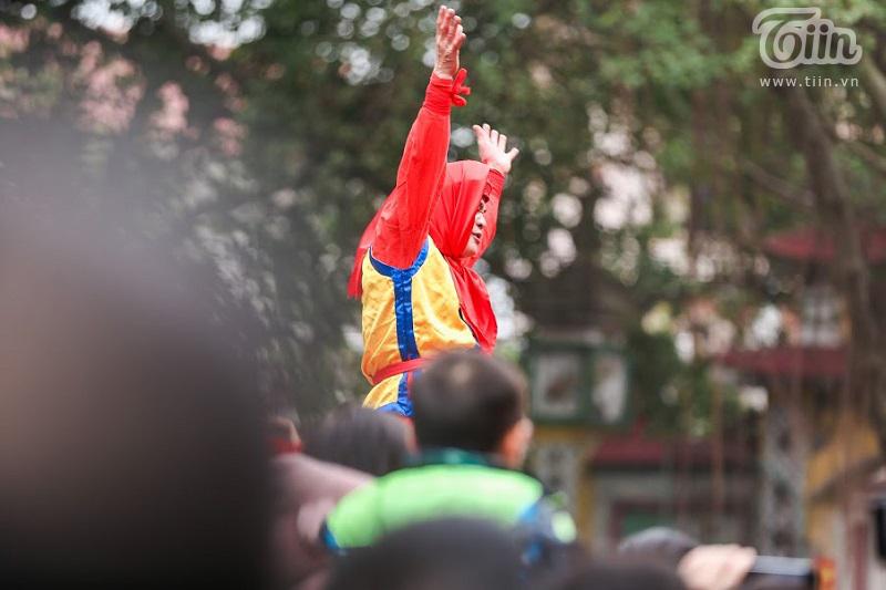 Lễ hội rước pháo truyền thống làng Đồng Kỵ (Bắc Ninh): Cầu mong một năm mới phát tài phát lộc 1